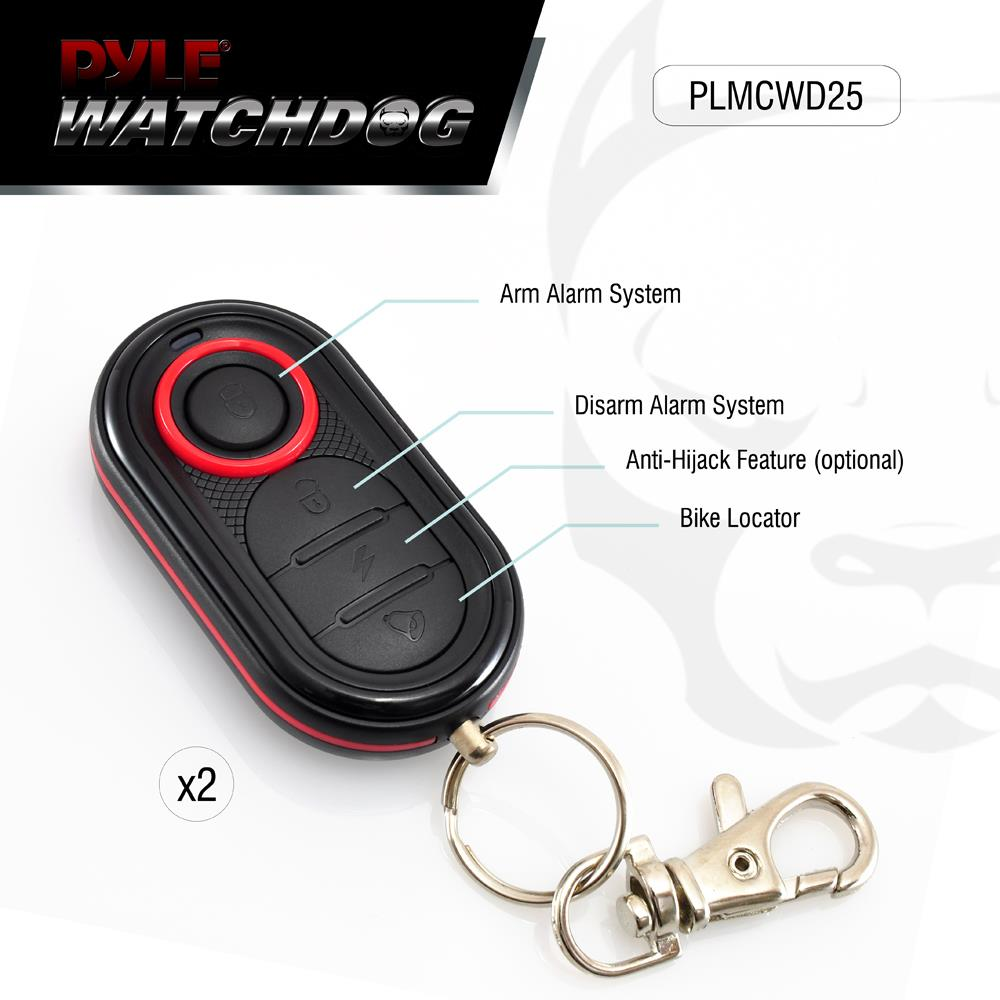 New Motorcycle Alarm Security System  U0026 Auto Start Remote W