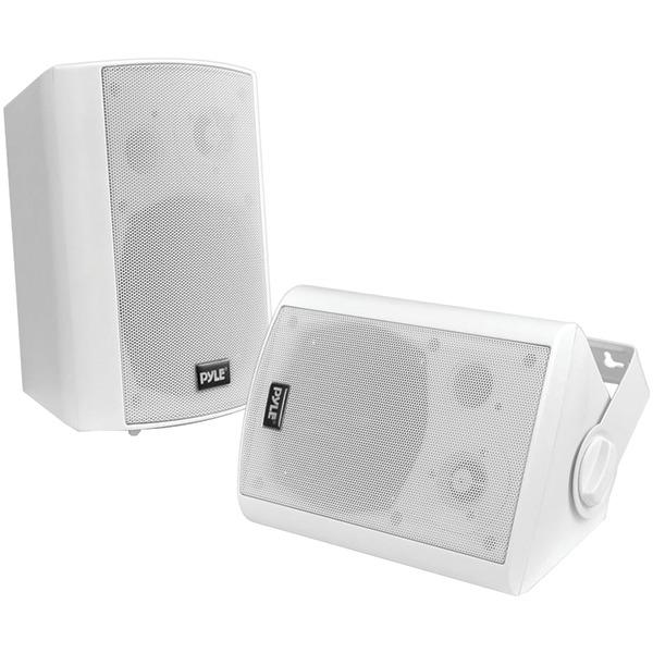 6.5 Indoor//Outdoor Pyle PDWR62BTBK Wall Mount Waterproof /& Bluetooth Speakers