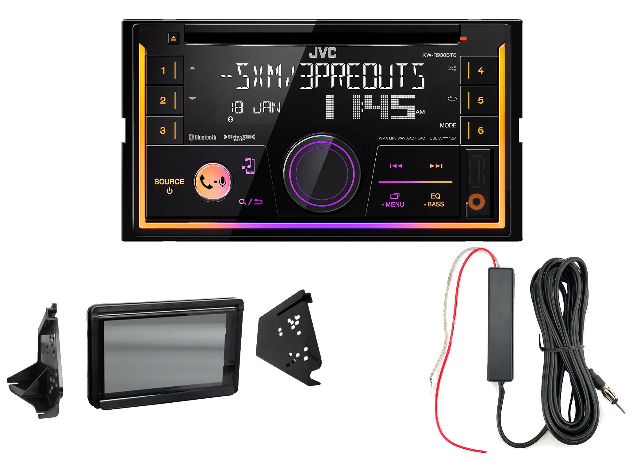 Metra Polaris Splash Guard Backup Camera Pyle Touchscreen CD Radio Harness
