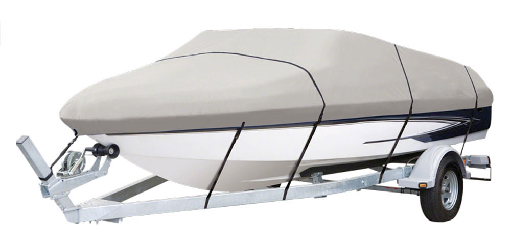 PyleSports PCVHP440 Armor Shield Pontoon Boat Cover 17/'-20/'L Beam Width to 96/'/'