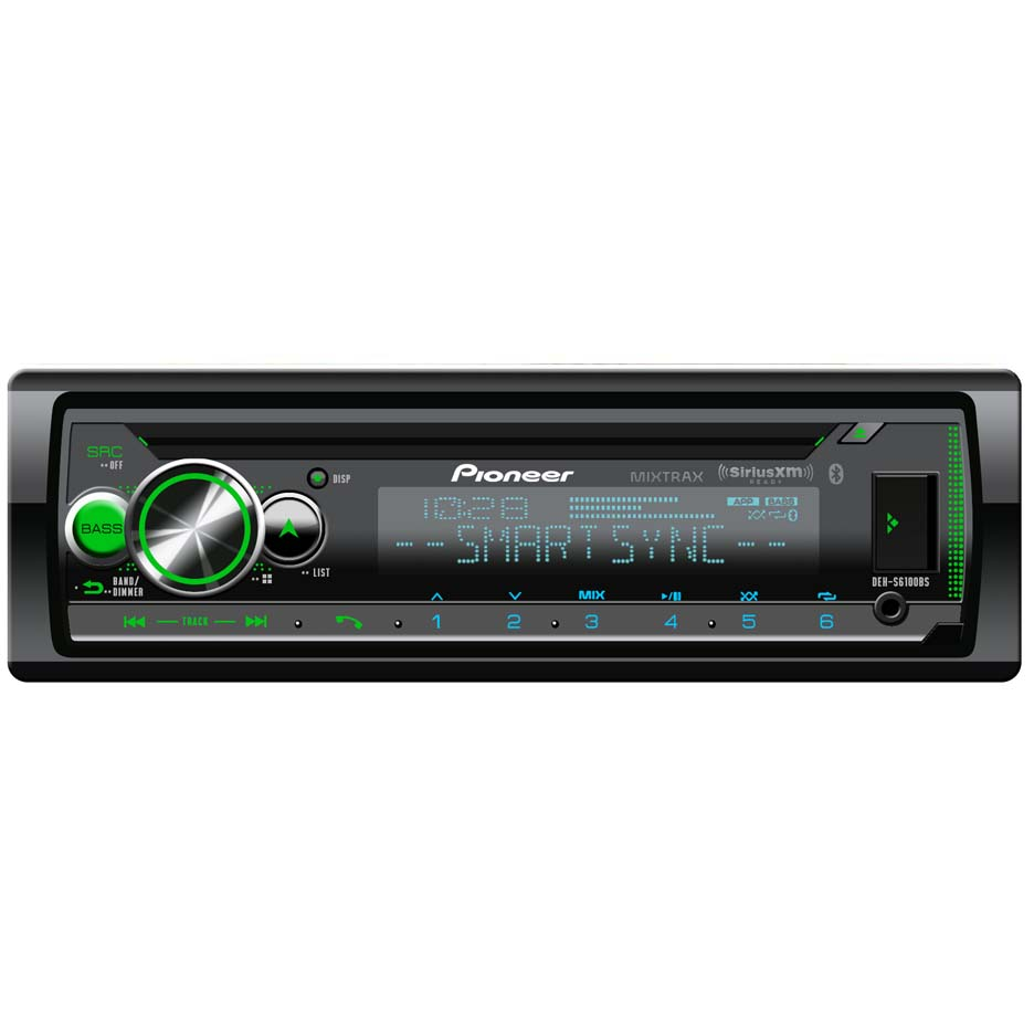 Vehicle Electronics & GPS Aux Input Pioneer DEH-S6010BS CD ...