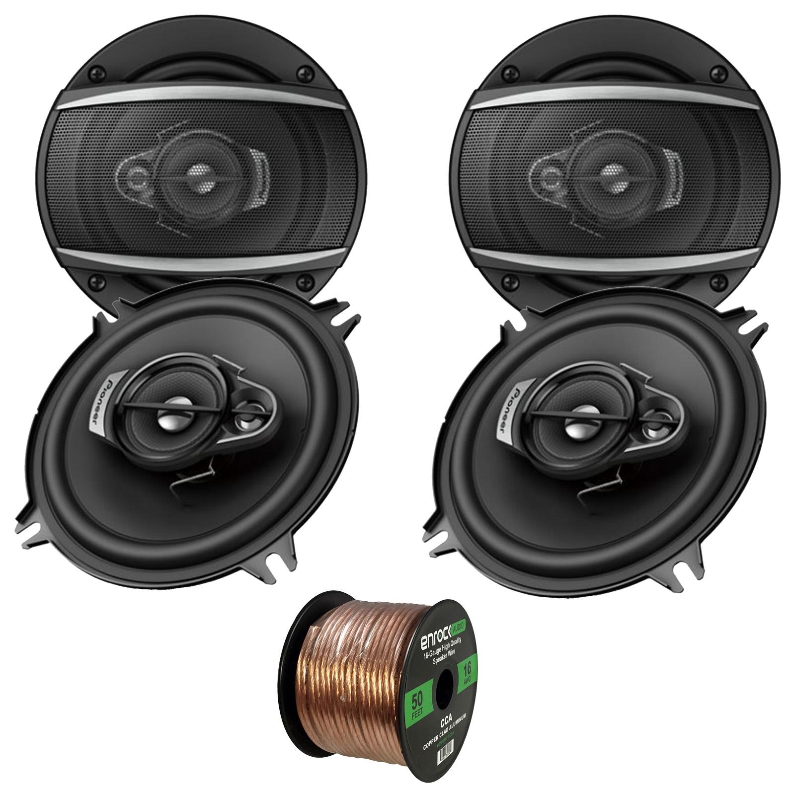 Car Speaker System >> Pioneer Ts A1370f 5 1 4 3 Way Coaxial Speaker System 300w