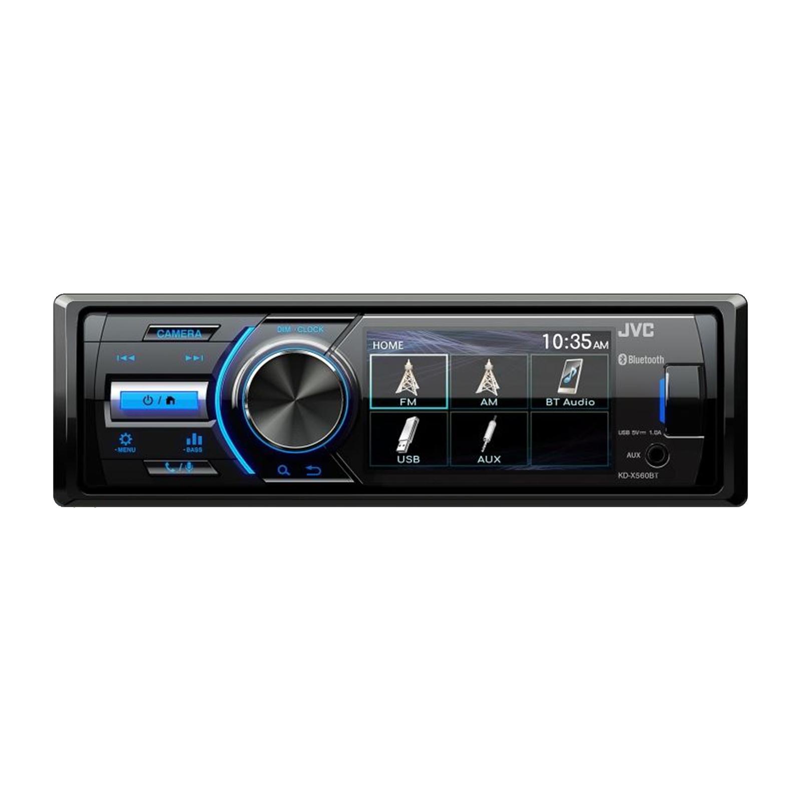 JVC KD-X560BT Digital Media Marine Bluetooth Receiver iPhone//Android//USB//AUX