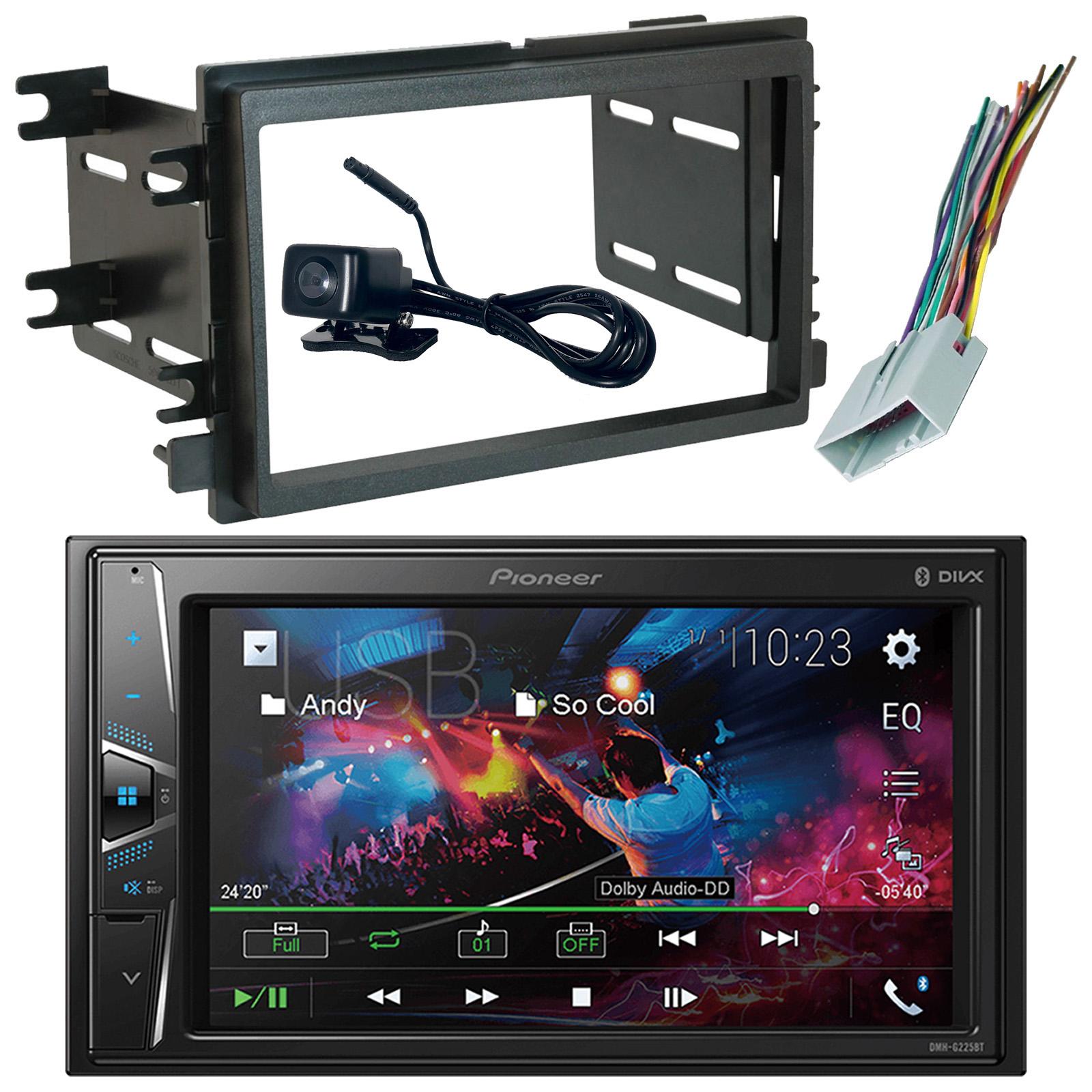 Pioneer DMH-G225BT Bluetooth Receiver, Reverse Cam, Dash Kit, Radio Wire  Harness   eBayeBay
